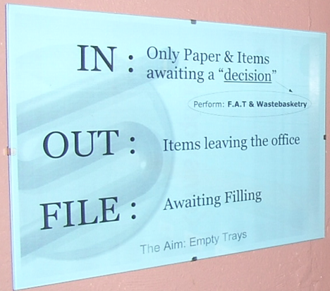The Simplest Filing System In World