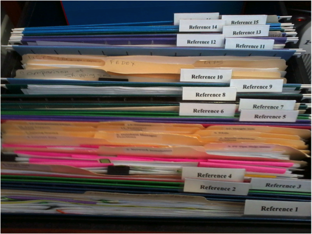 The Simplest Filing System In World Paper Tiger