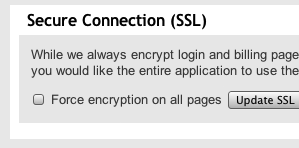 SSL encrypts all data transmission to and from our servers to prevent unauthorized access.